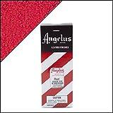 Angelus Brand Färbemittel und Wundkompresse, Wildleder und Nubuk, mit Applikator, 85 ml, Rot (rot), 3 Ounces