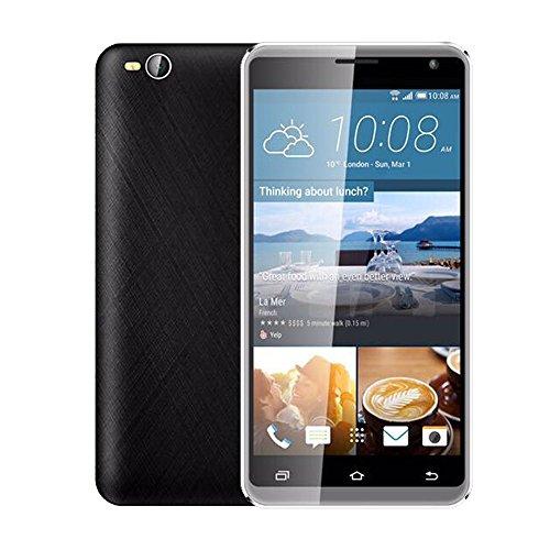 Wifi Handy Unlocked (Oasics Smartphone, Dual-HD-Kamera-Smartphone Unlocked 5,5