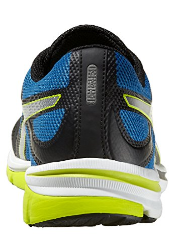 Asics  GEL ELECTRO 33, Chaussures de course pour homme Multicolore - Blk/Silv/Bluee