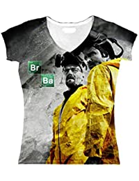 "T-Shirt fille ""Sublimation"" Breaking Bad"