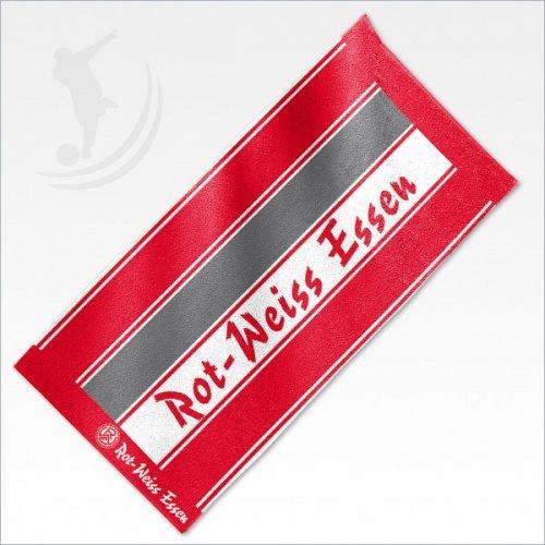 rot-weiss-essen-duschtuch-senkrechtstreifen