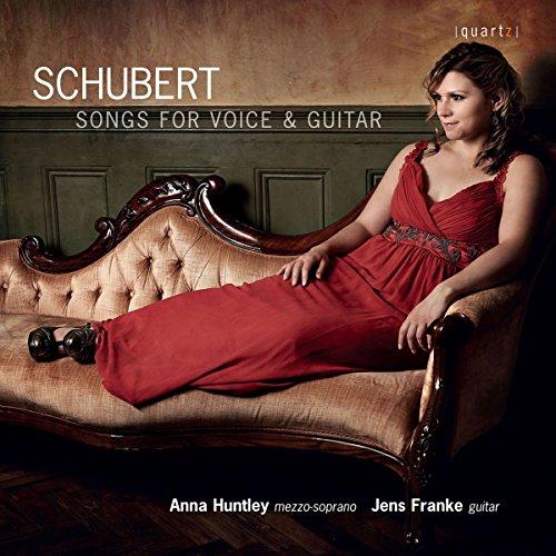 Schubert : Mélodies pour mezzo-soprano et guitare. Huntley, Franke.
