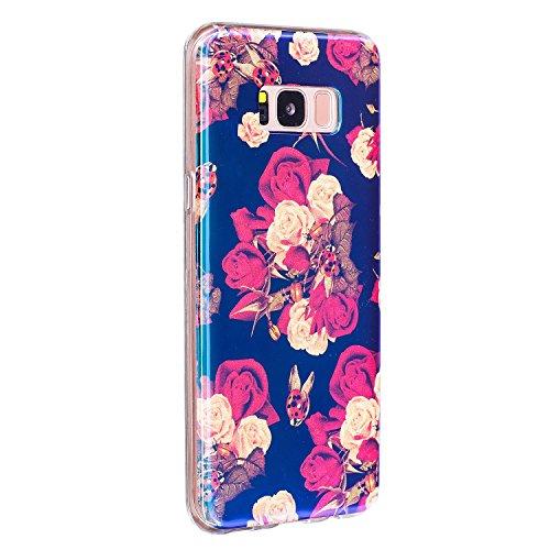 Für Samsung Galaxy S8 Plus Case, Ultra Thin Leichtgewicht Luxus Blue Light Soft TPU Silikon Gel Schutzmaßnahmen zurück Deckung ( Color : J ) I