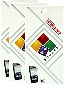 Square Screen Protectors for LG Optimus L1 II Trio Pack of 3
