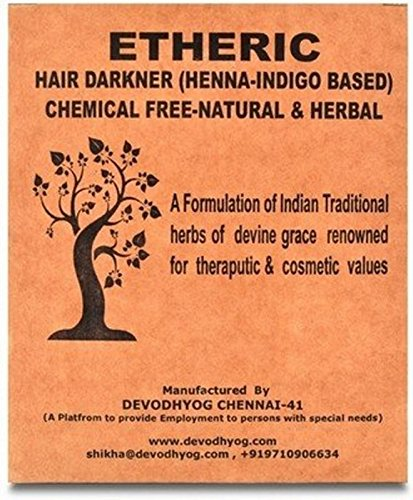 Etheric Hair Darkner ( Henna & Indigo Based) (100 gms)
