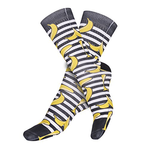 onlinegt-full-print-calcetines-largos-3d-de-moda-calcetines-de-rodilla-36-41-eu-un-tamano-multicolor