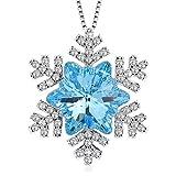 """J.Rosée swarovski cristal Collier en argent 925 """"Amour Pur"""" pendentif ..."""