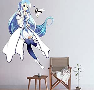 Sword art online anime cosplay wandsticker cidbest for Anime zimmer deko