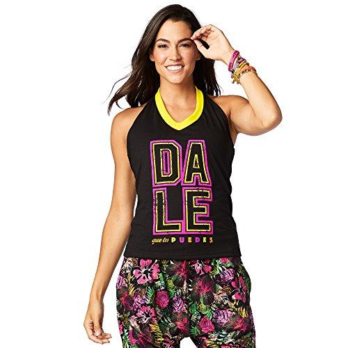 Zumba Fitness® Zumba Party Soporte Top Mujer Tops, Todo el año, Mujer, Color Bold Black, tamaño 2XL