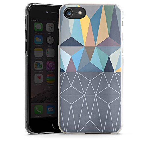 Apple iPhone X Silikon Hülle Case Schutzhülle Muster Grafisch Abstrakt Hard Case transparent