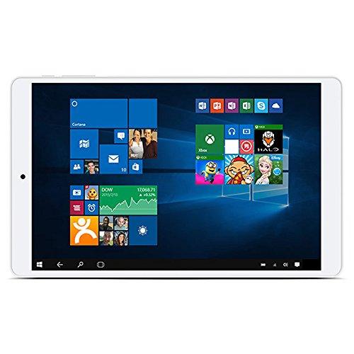 Teclast X80 Pro Tablet PC Android 5.1/Windows 10 Home Cherry Trail X5 Z8300 Quad Core 8' IPS Écran 5.5mm Bordure Étroite 1,84 GHz 16:10 2GB RAM 32GB ROM 2MP 2MP Double Caméras 4K Vidéo Sans HDMI