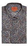 Simon Carter Herren Business-Hemd Gr. 42, Multi