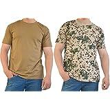 2 x US/BW T-Shirt, klassisches Armee-T-Shirt, in verschiedenen Farben zu Auswahl, in den Größen S-3XL