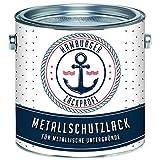 Metallschutzlack GLÄNZEND Anthrazitgrau RAL 7016 Grau Metallschutzfarbe...