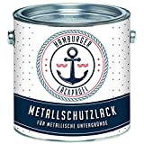 Metallschutzlack GLÄNZEND Anthrazitgrau RAL 7016 Grau Metallschutzfarbe Metalllack Metallfarbe // Hamburger Lack-Profi (1 L)