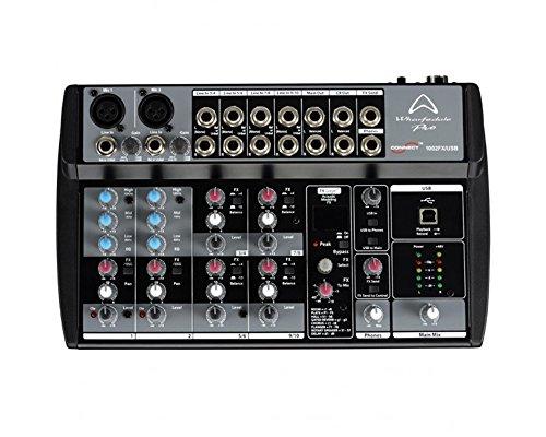 WHARFEDALE PRO CONNECT 1002 FX/USB mixer audio 10 canali con dsp per Karaoke, live, Studio etc.