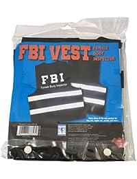 Warnweste FBI Female Body InspectorWarnweste mit reflektierenden Streifen L - XXL