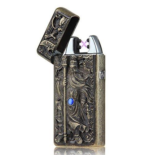 Padgene USB elektronisches Feuerzeug aufladbar lichtbogen (Guan Yu)