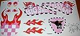 Big Bobby Car Stickers Aufklebersatz Girl hergestellt von BIG