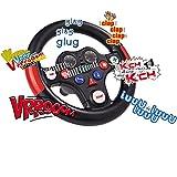 #1118 Spezial Soundlenkrad für Bobby Car mit acht verschiedenen Tasten und Sounds • Lenkrad Rutschauto Zubehör Rutscher Lenker Bobbycar