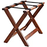Estuche de madera soporte, 65x 51x 36cm (BxHxT), color nogal, 1pieza