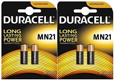 Duracell A23X 2Paquets (4pcs) de Duracell - Batteries et chargeurs