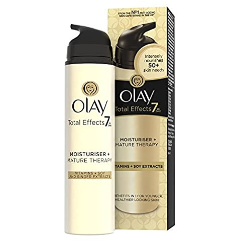 Olay Total Effects 7-in-1 Mature Therapy Moisturiser, 50 ml