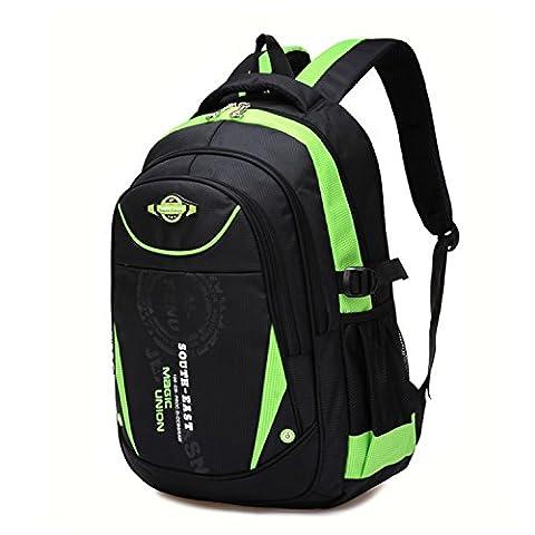 Action Club Schulrucksack Schulranzen Schultasche Rucksack Freizeitrucksack Daypacks Backpack für Mädchen Jungen Damen Herren Jugendliche