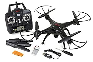 UUMART Syma X5SC Explorers Headless 2 - 2.4G 4 Channel 6-Axis Gyro RC Quadcopter With HD Camera - Black