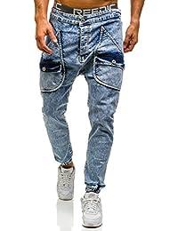 BOLF Pantalons de sport Jeans pantalons Homme 6F6