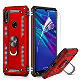LeYi Case for Huawei Y6 2019/Honor 8A with Ring Holder,