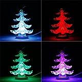USB Leuchtender Weihnachtsbaum mit Weihnachtsstern