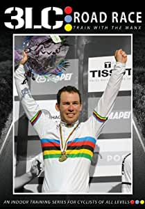3LC: Road Race featuring Mark Cavendish & Olympic Gold Medalist Pete Kennaugh - Indoor Cycling / Turbo Training DVD / Fitness & Workout Video / Ideal Gift