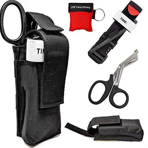 COUTUDI Torniquete First Aid Kit Trauma Vendaje...