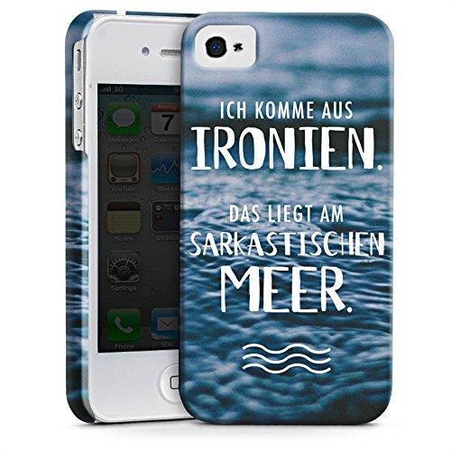 Apple iPhone X Silikon Hülle Case Schutzhülle Spruch Humor Statement Premium Case glänzend