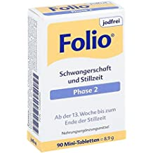 Folio 2 jodfrei Tabletten, 90 St.