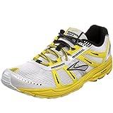 Brooks Racer St 4, Unisex - Erwachsene Laufschuhe, Weiß/gelb/schwarz, 40 EU / 6.5 UK