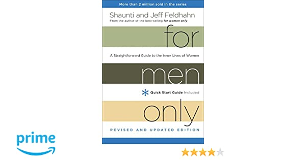 Amazon Fr For Men Only Revised And Updated Edition A