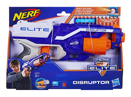 Nerf Elite Disruptor Pistola dardos 31cm Doble (Hasbro E0391EU5)