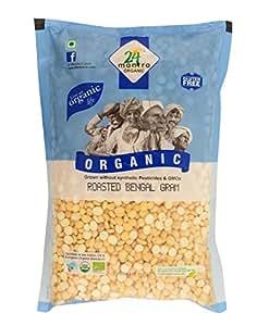 24 Mantra Organic Roasted Bengalgram Dal, 500g