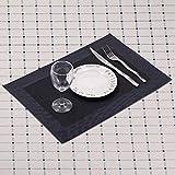 6 x Tischset / Tischmatten / Platzset / Platzdeckchen aus Kunststoff