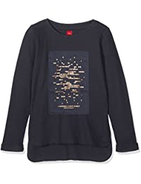 s.Oliver Mit Metallischem Folienprint, Sweat-Shirt Fille