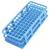 Herramienta laboratorio plástico azul 90 posición 12 mm orificio tubo ensayo soporte de apoyo