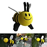 aowa Auto Antenne topper Smiley Honig Bumble Bee Antenne Ball Antenne topper.