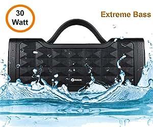 Zoook Jazz Blaster 30W Bluetooth Speaker with Auxin & Handsfree Calling/ IPX5 Splashproof/ 5200Mah Battery/Party Speaker (Black)