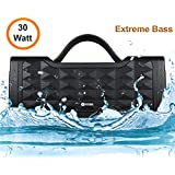 Zoook Jazz Blaster 30W Bluetooth Speaker with Auxin & Handsfree Calling/ IPX5 Splashproof/ 5200Mah Battery/Party Speaker (Black)