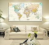 Rand Mcnally Total Home World Map(50