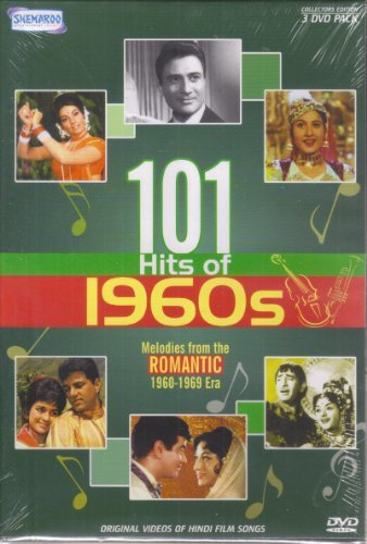 101 Hits Of 1960s - Bollywood Melodies From The Romantic 1960-1969 Era (3-DVD Set / Original Videos Of Hindi Film Songs) (Songs Film Hindi)