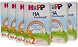 Hipp HA2 Combiotik Folgenahrung - ab dem 6. Monat, 6er Pack (6 x 500g)