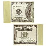 Bündel Dollarscheine Fake Geldbündel Casino Dollar Scheine Bankräuber Bund Geldscheine Poker Party Dollars Mottoparty Banknoten Karnevalskostüme Zubehör